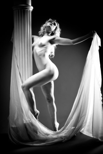 Pillar of Desire Artistic Nude Artwork by Photographer Enrico Garofalo