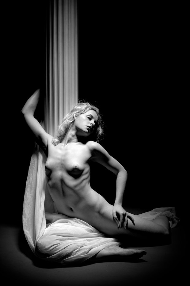 Pillar of Desire Artistic Nude Photo by Photographer Enrico Garofalo