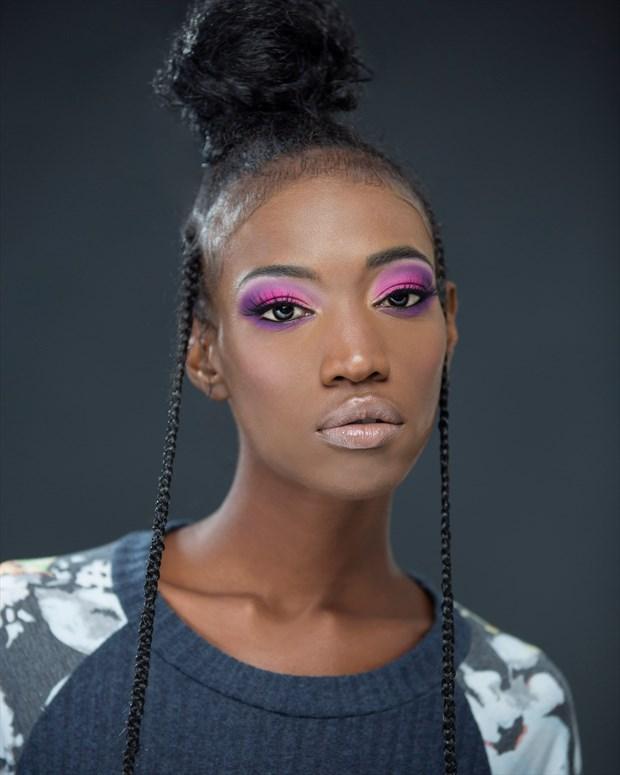 Pinup Close Up Photo by Model Haitianbratt