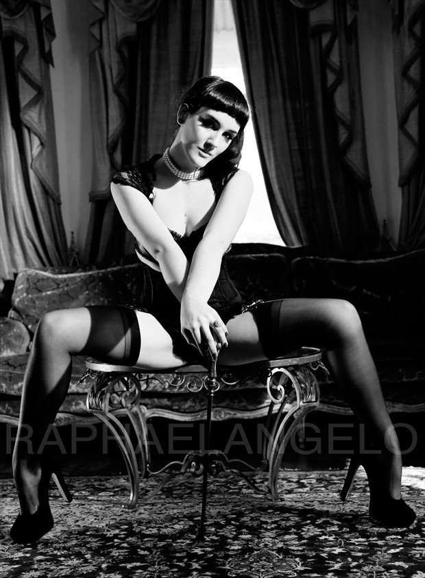 Pinup Photo by Model Luxxe Noir