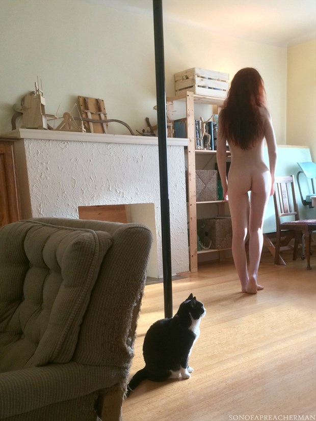 Pixie Habitat Artistic Nude Photo by Model Gingersnap Pixie