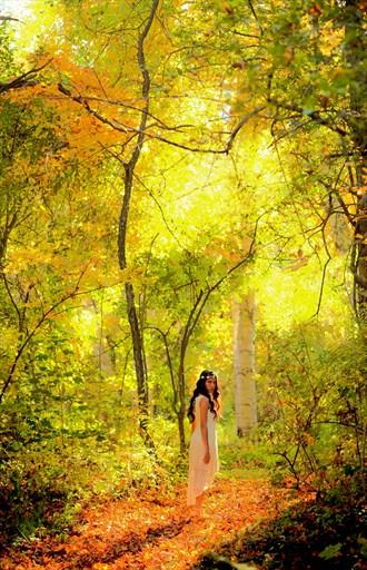 Pixie in Paradise Nature Artwork by Photographer Robert Lee Bernard
