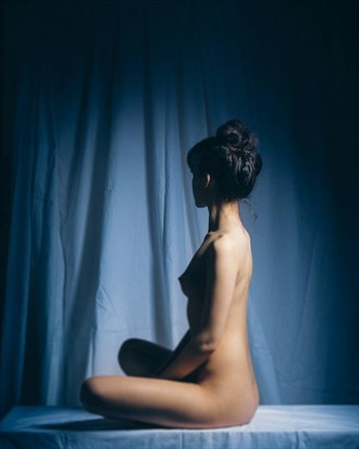 Poise Artistic Nude Artwork by Model Mia Liberum