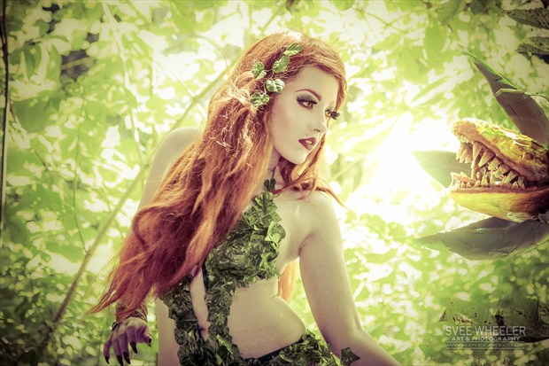 Poison Ivy Cosplay Photo by Artist Svee