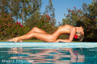 Poolside  Artistic Nude Photo by Photographer Stuart_Thomson