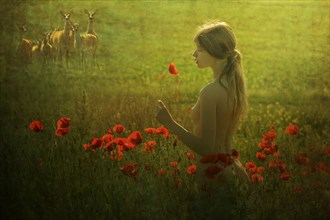 Poppy girl Artistic Nude Photo by Model Florence