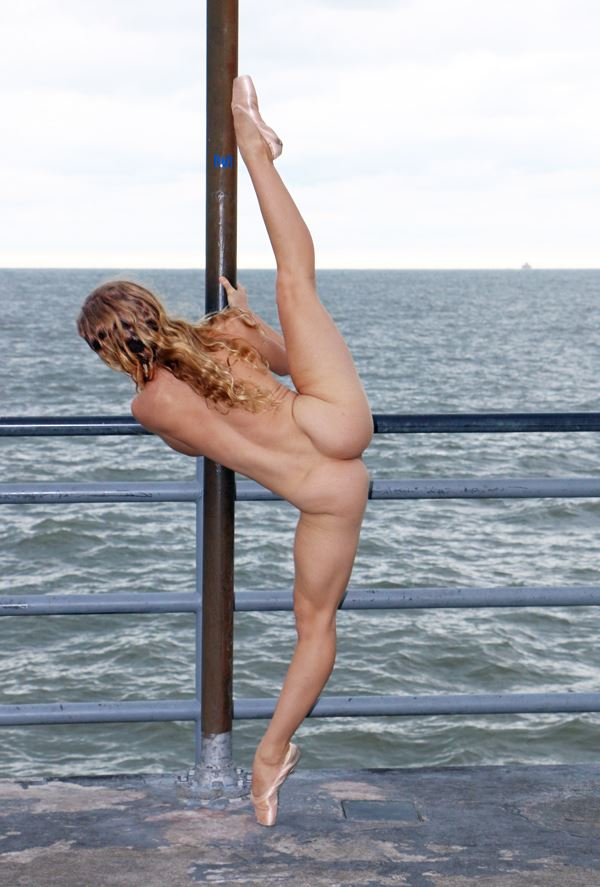 Poppyseed Dancer Artistic Nude Photo by Photographer Robert L Person