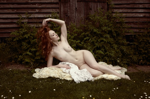 Porcelain and Flame Artistic Nude Photo by Photographer Ray Kirby