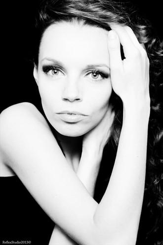 Portrait  Close Up Photo by Model Luna Nera