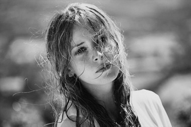 Portrait Emotional Photo by Model Alessandra