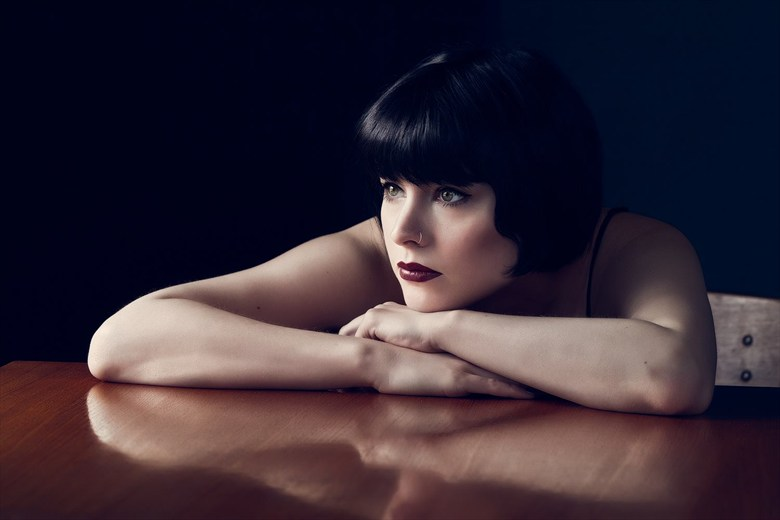 Portrait Emotional Photo by Model Dorrie Mack