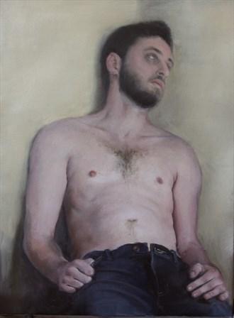 Portrait Expressive Portrait Artwork by Artist rogerrembrandt
