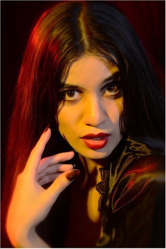 Portrait Glamour Photo by Model Noela Meida