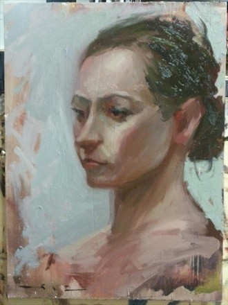 Portrait Painting or Drawing Artwork by Artist ShunXie