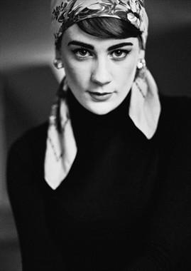 Portrait Photo by Model Artemis Fauna