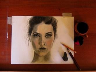Portrait Portrait Artwork by Artist Daniel