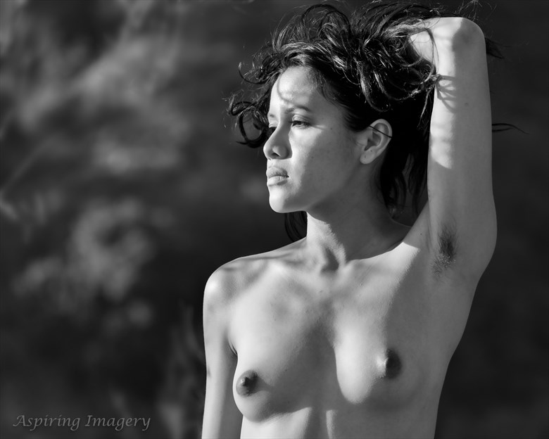 Portrait of A Strong Woman Artistic Nude Photo by Photographer Aspiring Imagery