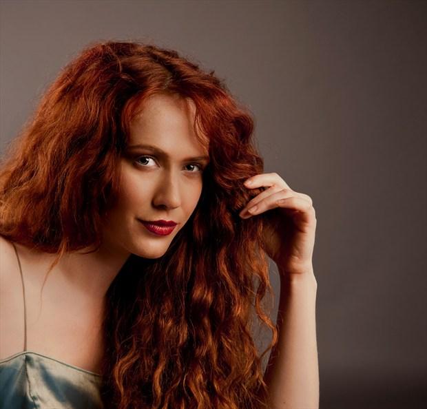 Portrait of Annie Studio Lighting Photo by Photographer Doug Ross