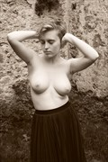 Portrait of a Young Women: from the Remembering of Nuns of Godstow Series Artistic Nude Photo by Photographer Mark Bigelow