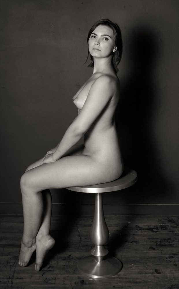 Portrait of a young Ukranian Woman Artistic Nude Photo by Photographer Risen Phoenix