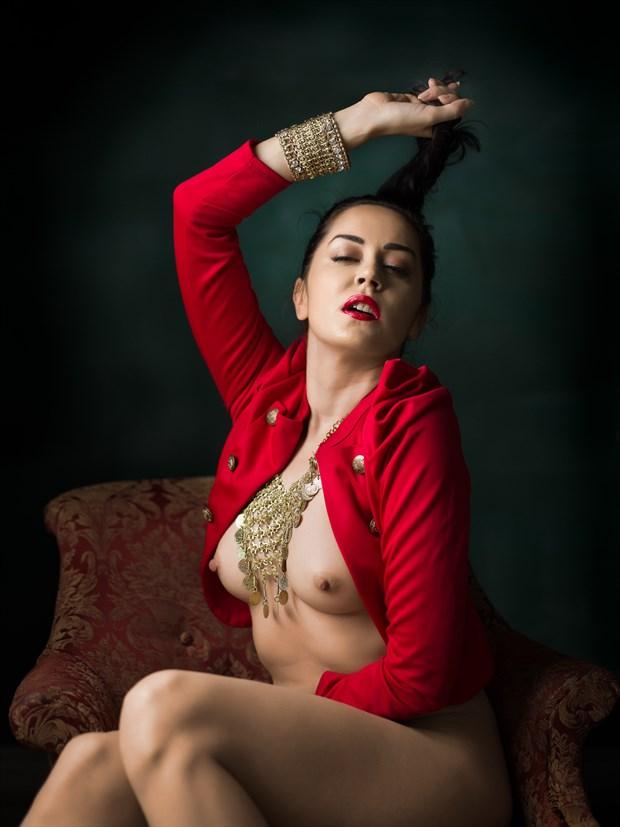 Portrait study %234 Artistic Nude Photo by Photographer Bruce M Walker