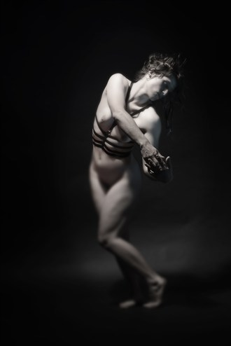 Pose of a Art Model Artistic Nude Photo by Photographer Mark Bigelow