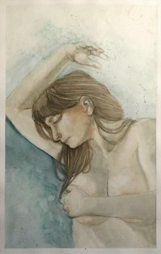 Posed Artistic Nude Artwork by Artist LovelyDay