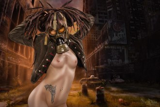 Post apocalyptic Artistic Nude Photo by Photographer Mr Dean Photography