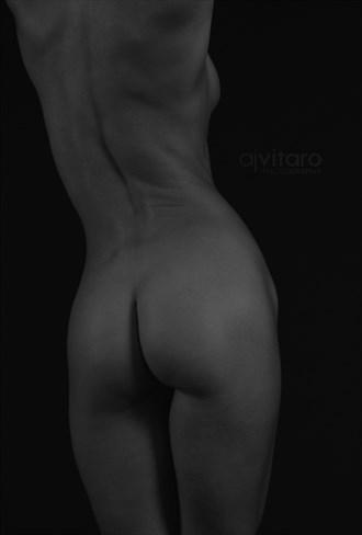 Posterior View Fine Art Nude Artistic Nude Photo by Photographer AJVitaroPhoto