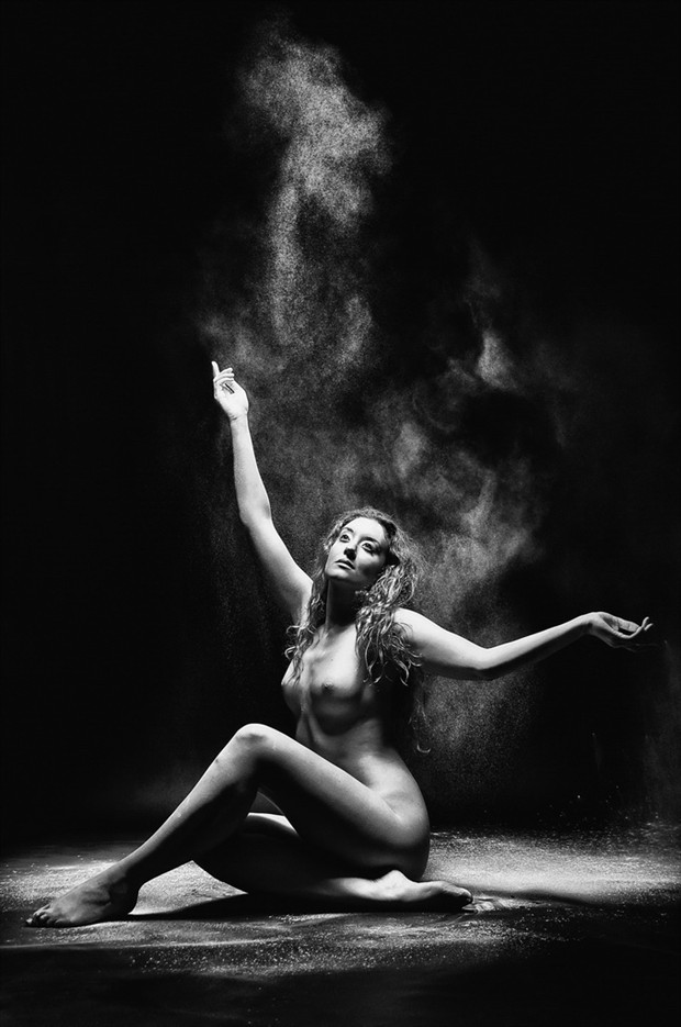 Powder Room Artistic Nude Photo by Photographer Karen Jones