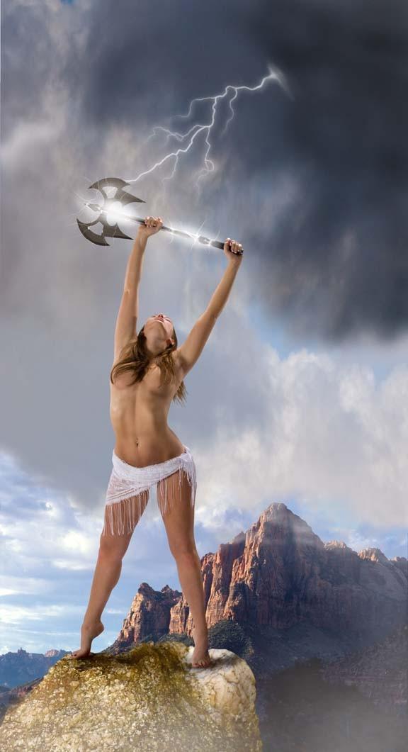 Power Fantasy Artwork by Photographer John Hacht