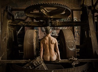Power in Decay Artistic Nude Photo by Photographer ROD SPARK