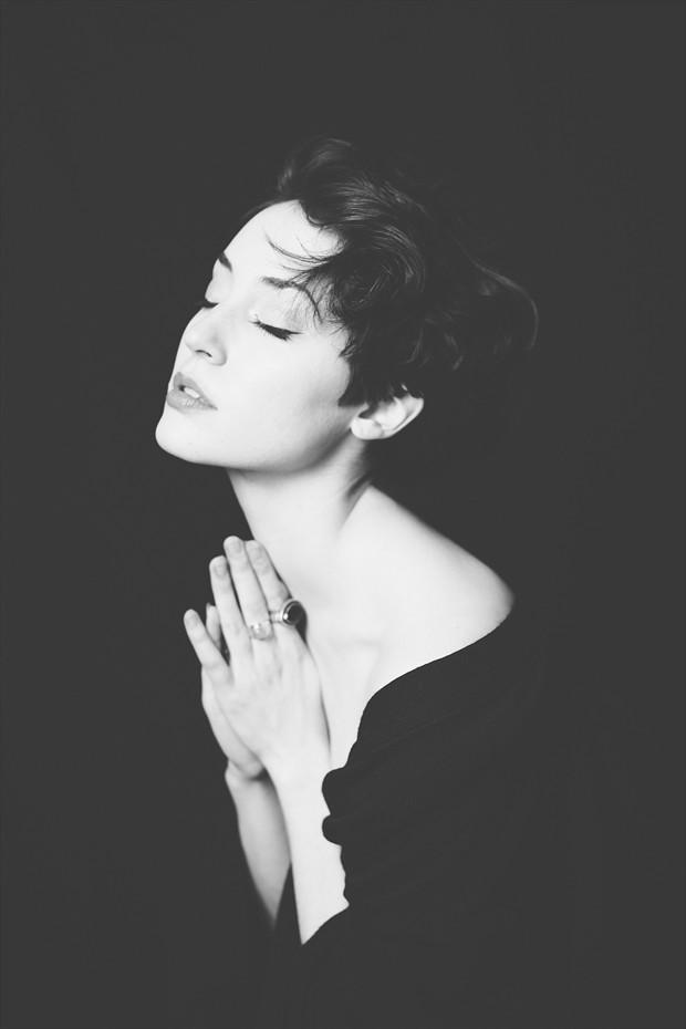 Prayer Sensual Photo by Model Ammalynn