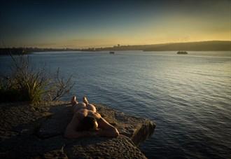 Precipice at dawn Artistic Nude Photo by Photographer ROD SPARK