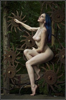 Precocious Sitting Artistic Nude Photo by Photographer Magicc Imagery