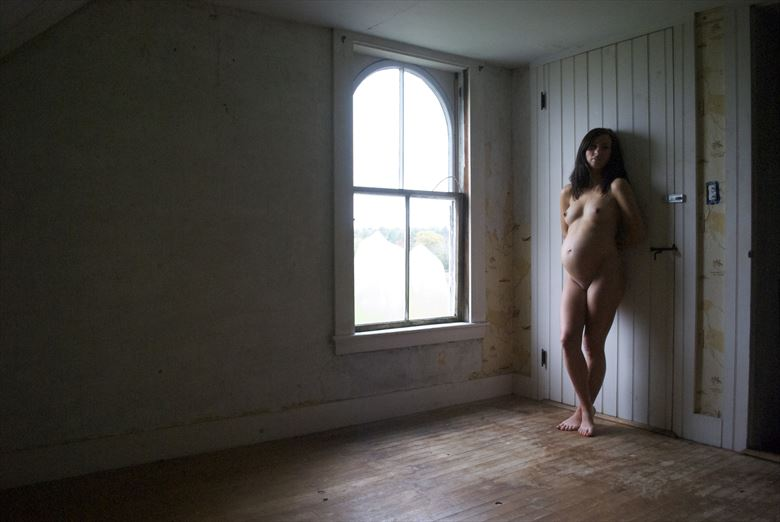 Pregnant Light Artistic Nude Photo by Photographer seanuu60