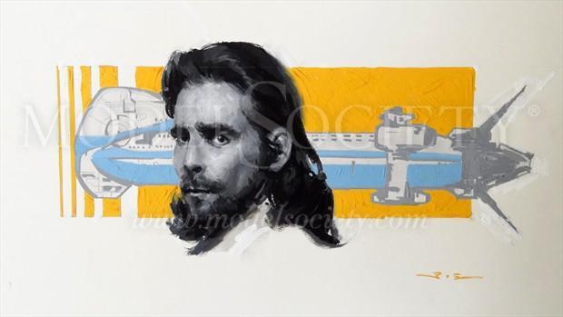 President Baltar (Art of Battlestar Galactica) Portrait Artwork by Artist ShunXie