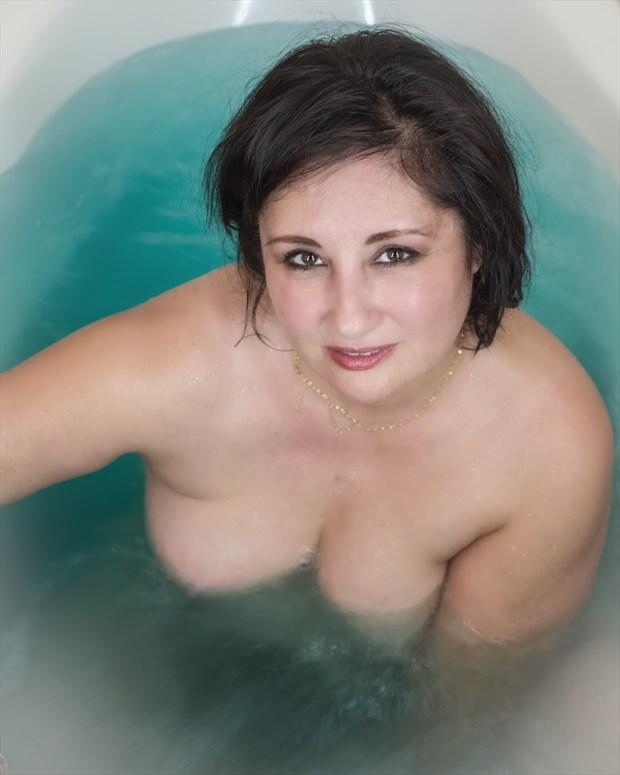 Pretty bath eyes Sensual Photo by Photographer DTraveler63