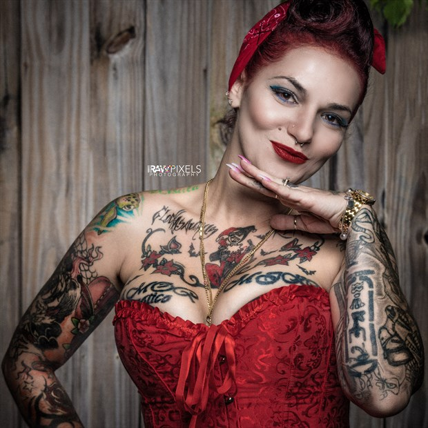 Pretty in ink.  Tattoos Photo by Photographer RAWpixels.me