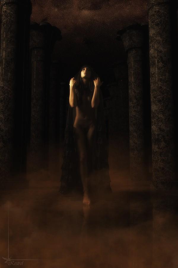 Priestess Fantasy Artwork by Photographer Kestrel