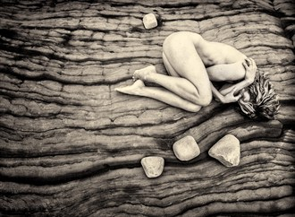 Primordial Artistic Nude Photo by Photographer Tony Browne