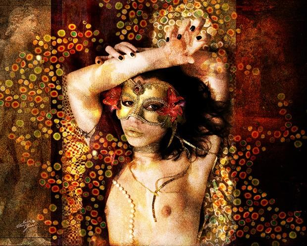 Princes Domenic Artistic Nude Artwork by Photographer Mark Davy Jones
