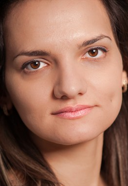 Profile Close Up Photo by Model Diana Revo