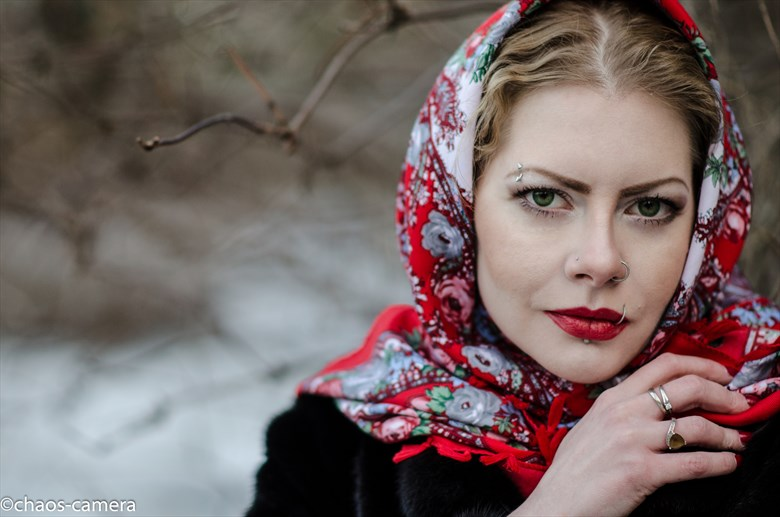 Proud to be Russian! Blood is calling! Sensual Photo by Model Kseniia
