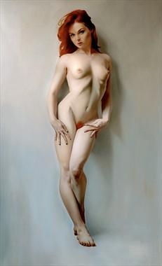 Psiche N1 Artistic Nude Artwork by Artist Nicola