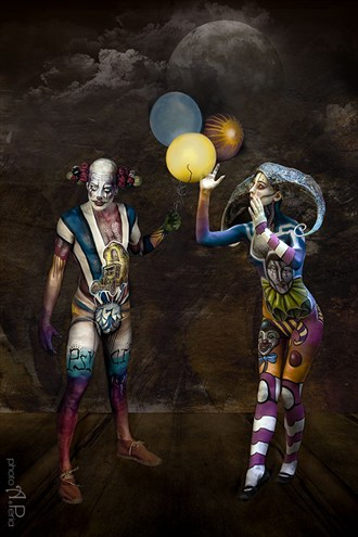 Psyco Circus Body Painting Photo by Photographer Andrea Peria