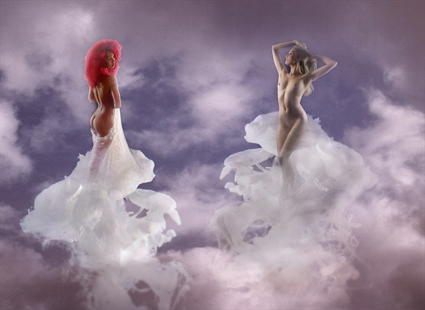 Pure Fantasy Artistic Nude Photo by Photographer Ray Kirby