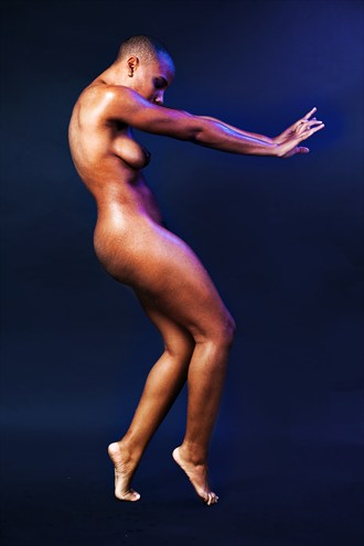Push and Pull Artistic Nude Photo by Model AGNOSIA