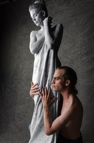 Pygmalion & Galatea Sensual Photo by Photographer Utah Bohemian