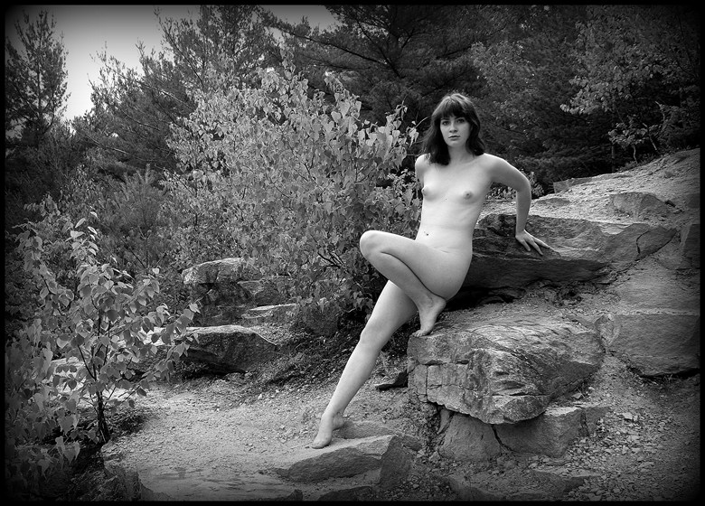 Quarry slither... Artistic Nude Photo by Photographer silverline images
